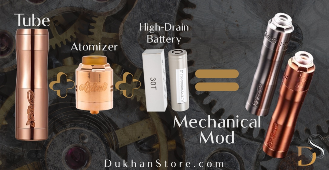 all you need to know about the types of mechanical vape mods and ways to use them in 4 points
