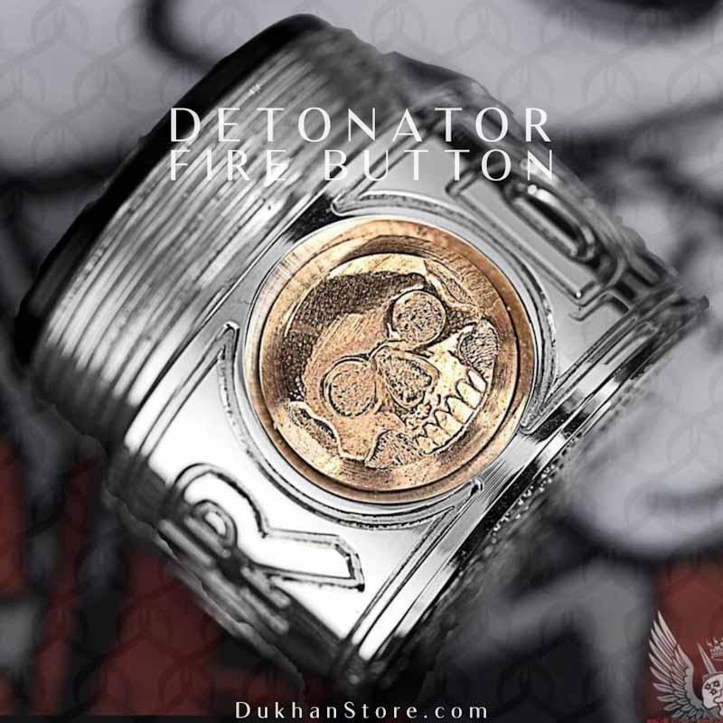 Purge - Hagermann Hand Engraved DETONATOR Button