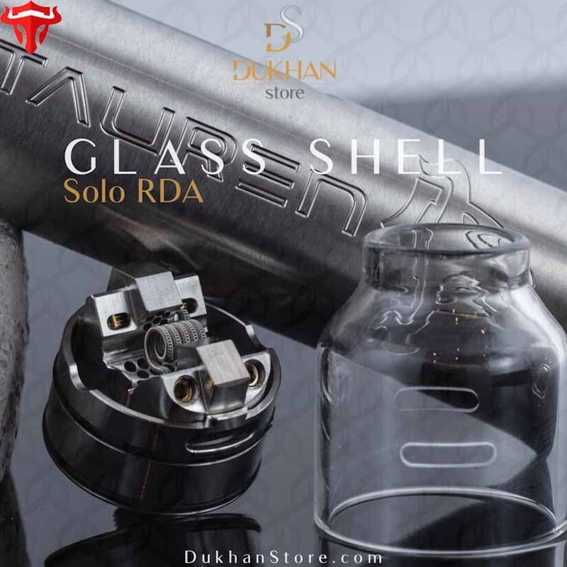 THC - TAUREN SOLO RDA GLASS SHELL (1PC/PACK)