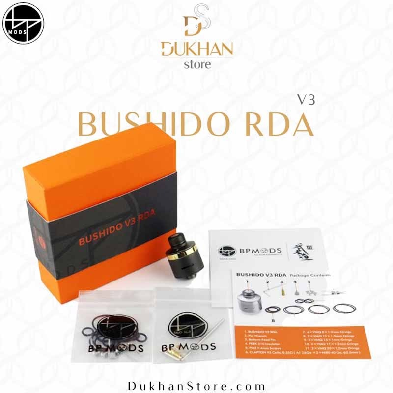 BP MODS - Bushido V3 RDA