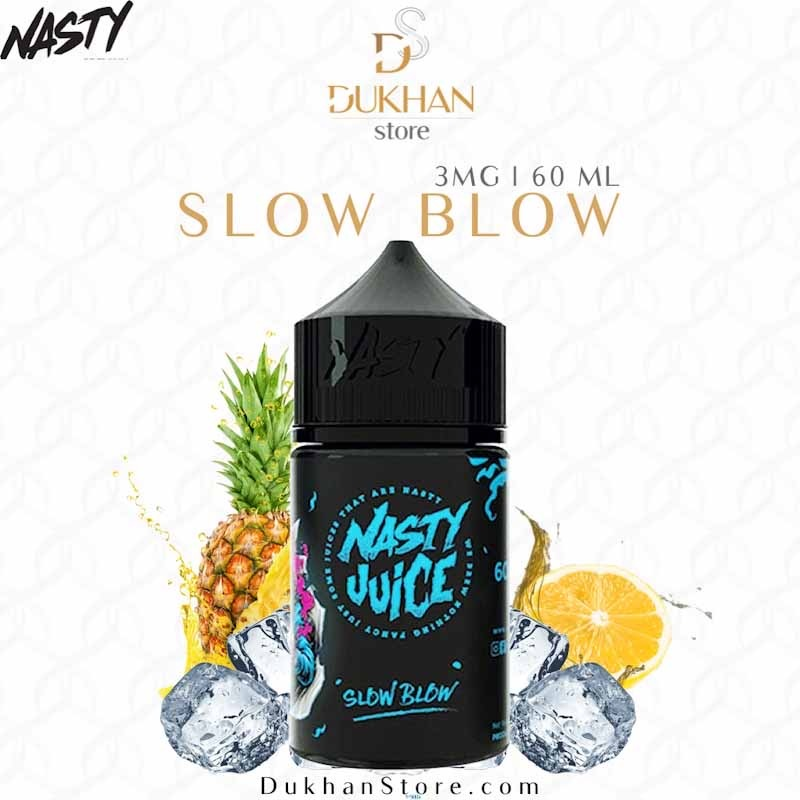 Nasty - Slow Blow (60ML) 6mg
