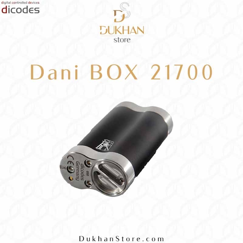 Dani Box Mod 21700 - Black