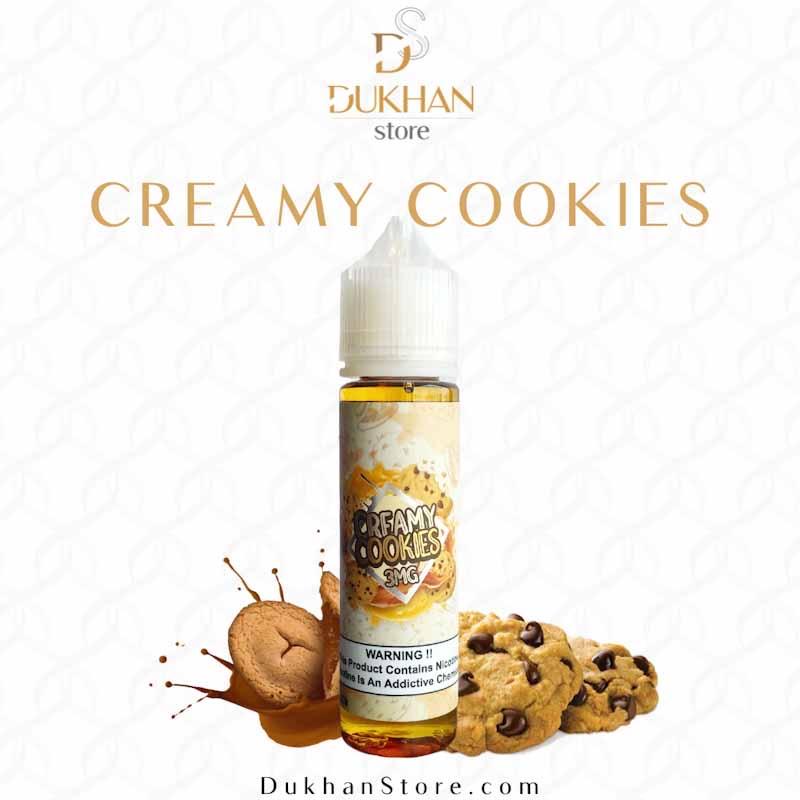 Moosh – Creamy Cookies (60ML) 3mg