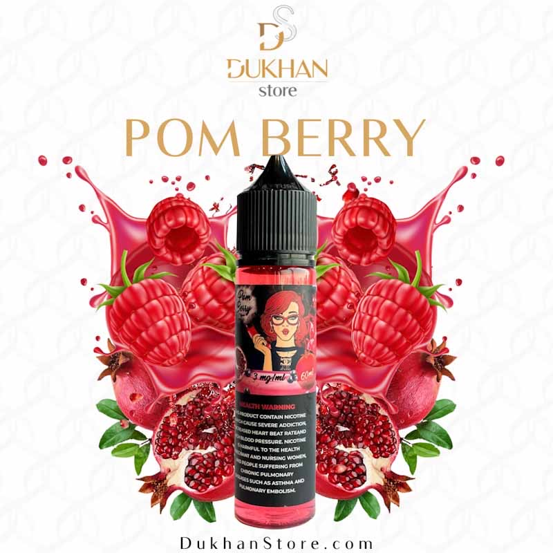 Jusaat - Pom Berry (60ML) 3mg