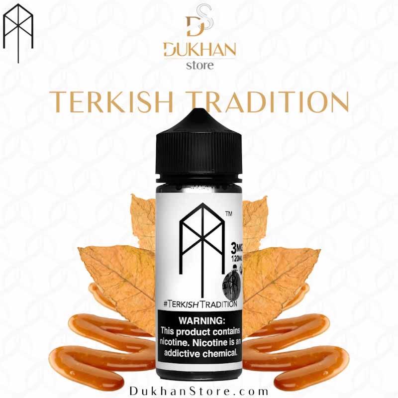 M.Terk - Terkish Tradition (120ML) 3mg