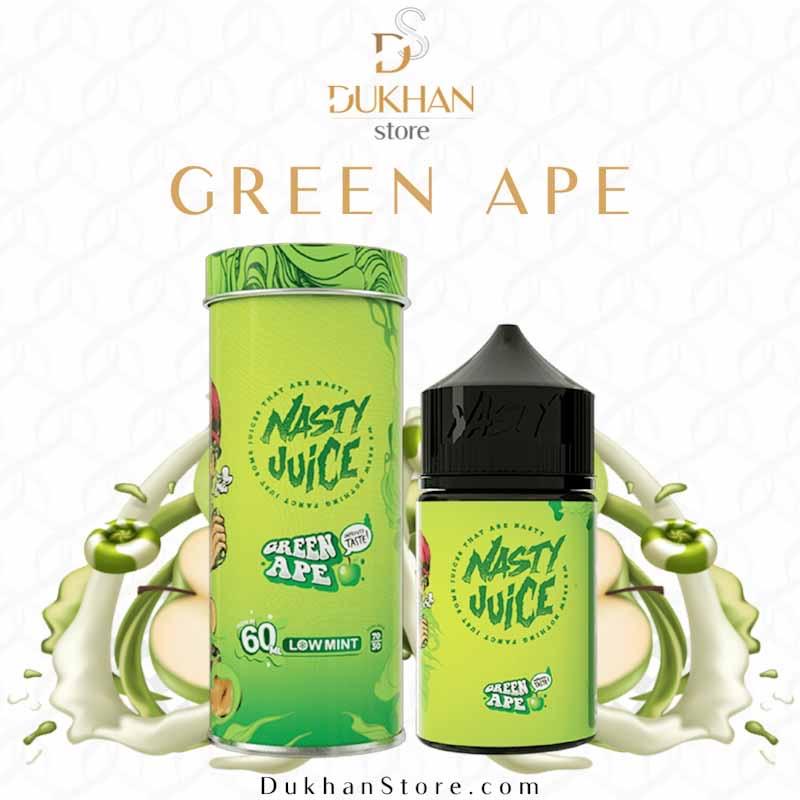 Nasty - Green Ape (60ML) 6mg